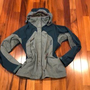 Marmot Green insulated Shell/Anorak Ski Jacket. S